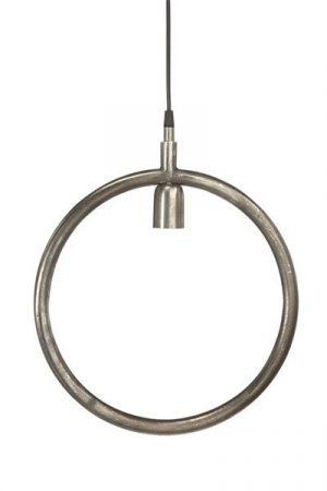 Taklampa Circle i råsilver