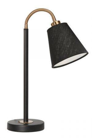 Skrivbordslampa Svart/Mässing Cia Lin