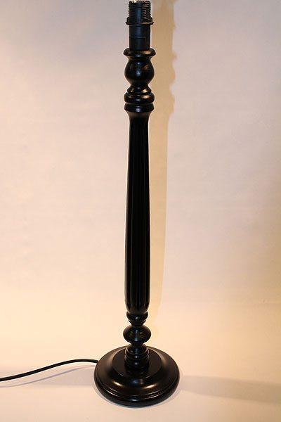 Bordslampa svart Sheffield Denise Vit 12