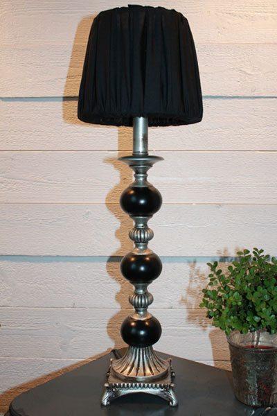 bordslampa metall Amila Antik