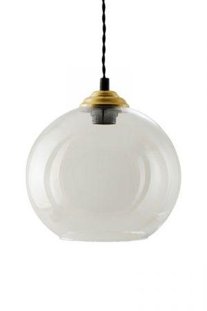 Taklampa Bistro Klarglas 25 cm