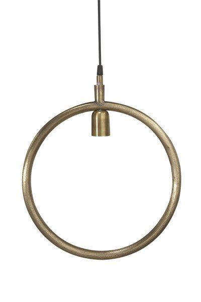 Taklampa Råmässing Circle 35 cm