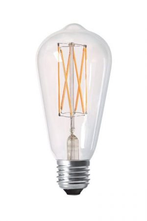 Elect LED Filament E27 Edison, 4W clear