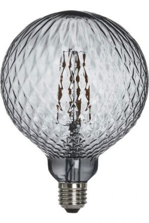 Elegance LED Globe Cristal 125mm Grå
