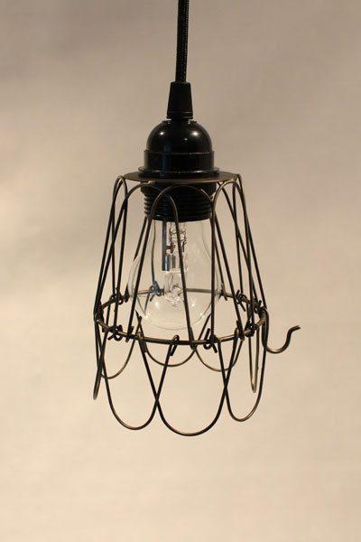 House Doctor fönsterlampa taklampa järntråd Wire