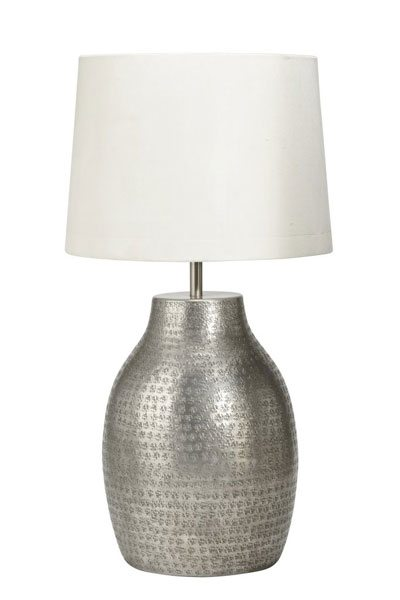 Lampa Humphrey Silver 40 cm