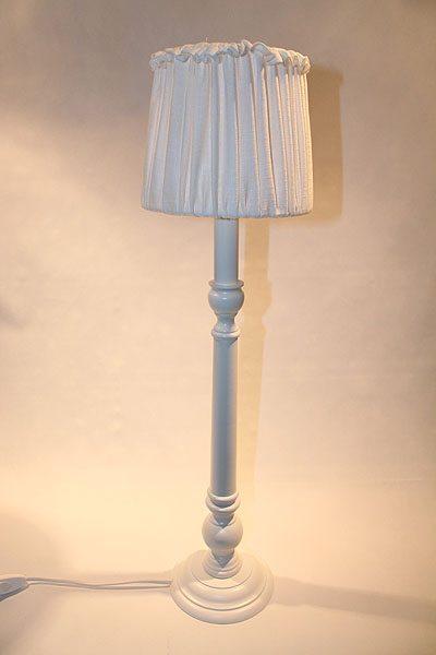 Bordslampa vit Lexington Eko