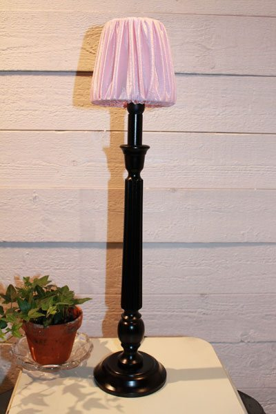 Bordslampa svart Hampshire Denise 12 Rosa