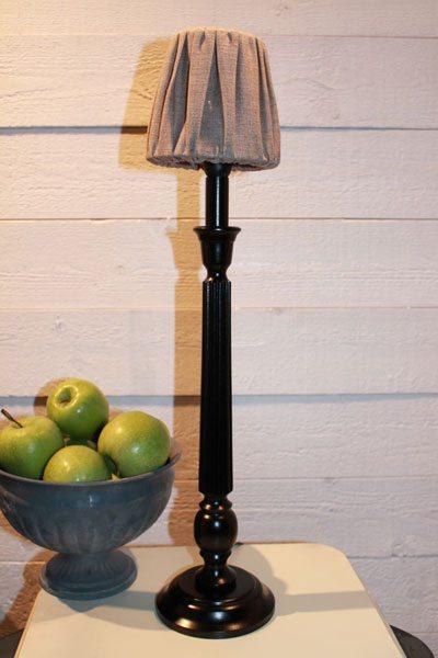 Bordslampa svart Hampshire Linn 12