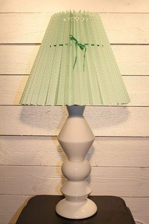 Lampa Rie Elise Larsen Vit-Grön
