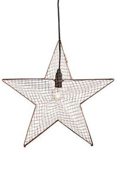 Adventsstjärna metall stjärna Bynäs