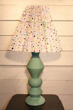 Rie Elise Larsen lampa lampfot keramik Svart-Multi