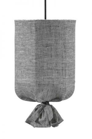 Taklampa Utomhus Round Grå/Svart 30 cm