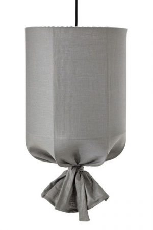 Taklampa Utomhus Round Ljusgrå 40 cm