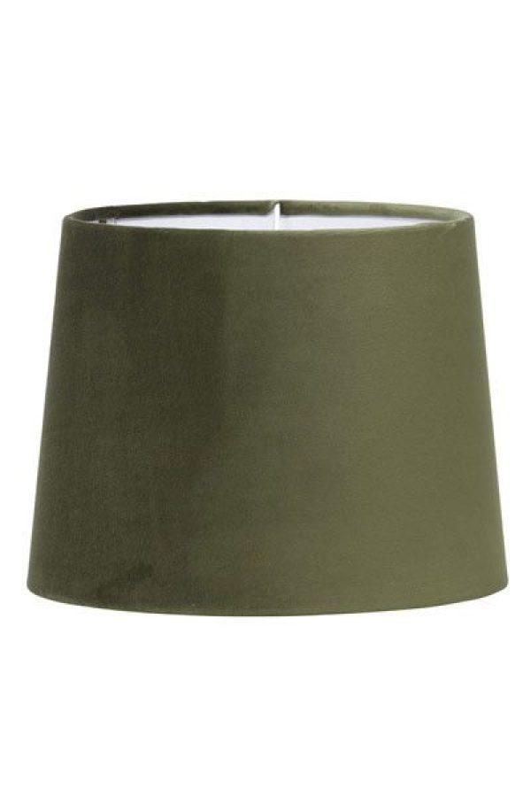 Lampskärm Sammet Grön Sofia 20 cm
