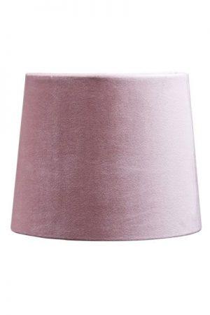 Lampskärm Sammet Rosa Sofia 20 cm
