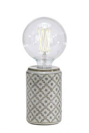 Bordslampa Porslin Zhang Li Beige