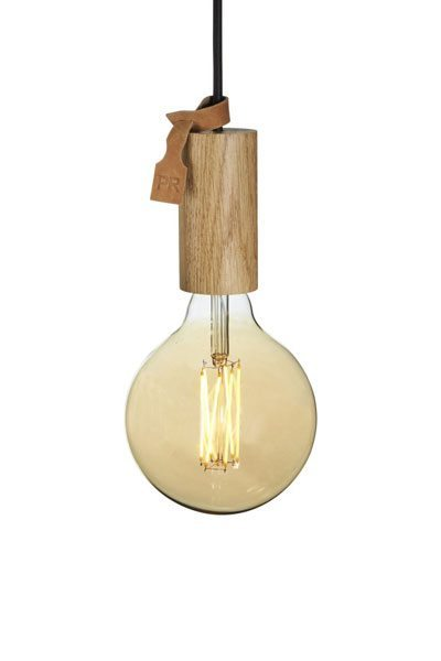 Taklampa Columbus Ek inkl LED Globe Lampa