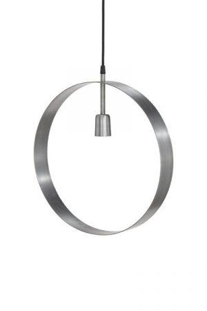 Taklampa Atmosphere Silver. Cirkelformad taklampa/fönsterlampa i silver med en lamphållare.