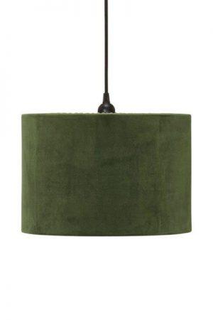 Taklampa Cylinder Sammet Grön 32 cm. Cylinderformad taklampa i grön sammet, levereras med 1,2 meter svart sladd med takkontakt. E27 sockel. Finns i flera färger och storlekar.