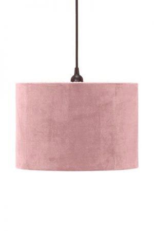 Taklampa Cylinder Sammet Klar Rosa 32 cm. Cylinderformad taklampa i klar rosa sammet, levereras med 1,2 meter svart sladd med takkontakt. E27 sockel. Finns i flera färger och storlekar.