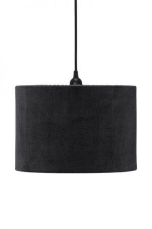 Taklampa Cylinder Sammet Svart 32 cm. Cylinderformad taklampa i svart sammet, levereras med 1,2 meter svart sladd med takkontakt. E27 sockel. Finns i flera färger och storlekar.