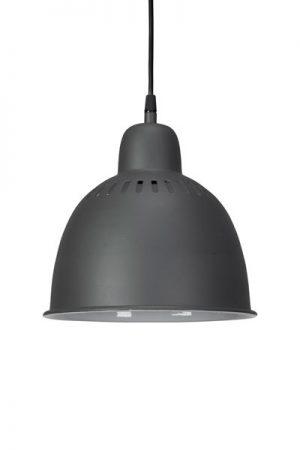 Fönster/Taklampa Cleveland Grå/Vit 23 cm. Fin tak- fönsterlampa i grått med vit insida. Levereras med 1,6 meter svart sladd med takkopp i samma svarta färg som lampan. Sockel E27.