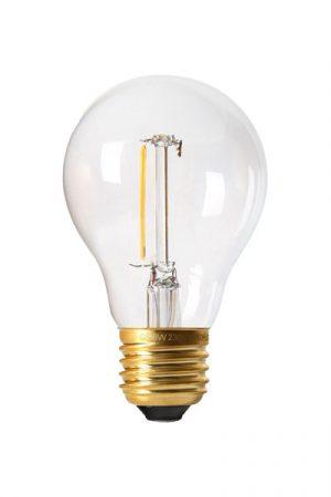 Bright LED Filament E27 10-pack. LED lampa framtagen för vår ljusslinga Bright Light, men kan användas till övriga produkter. Lampan har låg effekt som skapar ett varmt och fint ljus. Sockel E27. 20000 lystimmar, 80lm, 1W, 2200K, A+.