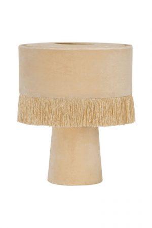 Bordslampa Alexis Rosa. Underbar bordslampan som har en enkel design med ett mjukt intryck. Både lampskärmen och lampfoten är i sammet, skärmen har en franskant. Lampan har en 1,5 meter lång vit sladd. Sockel E27. Lampan finns i tre olika färger.
