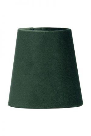 Lampskärm Sammet Smaragd Queen