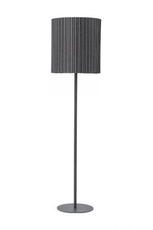 Golvlampa Agnar Grå Rand, 156 cm