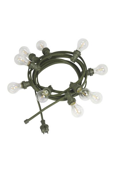 Ljusslinga Bright Light Green, inkl 10 st KLARA LED lampor