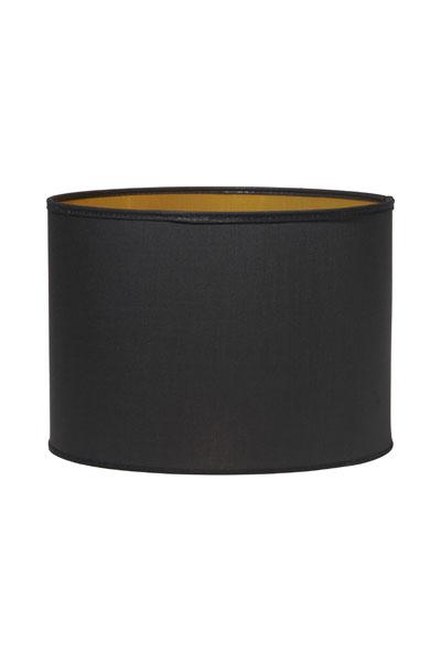 Lampskärm Sara Metallinsida Guld. Sara är en låg cylinderformad skärm som i sin enkelhet passar till de flesta fötter. Med sin guldfärgade insida skapar den härligt ljus och lyxig känsla. Skärmen har E27 ringfäste.