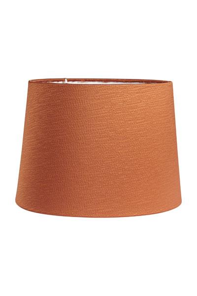 Lampskärm Sofia Sidenlook Glint Orange