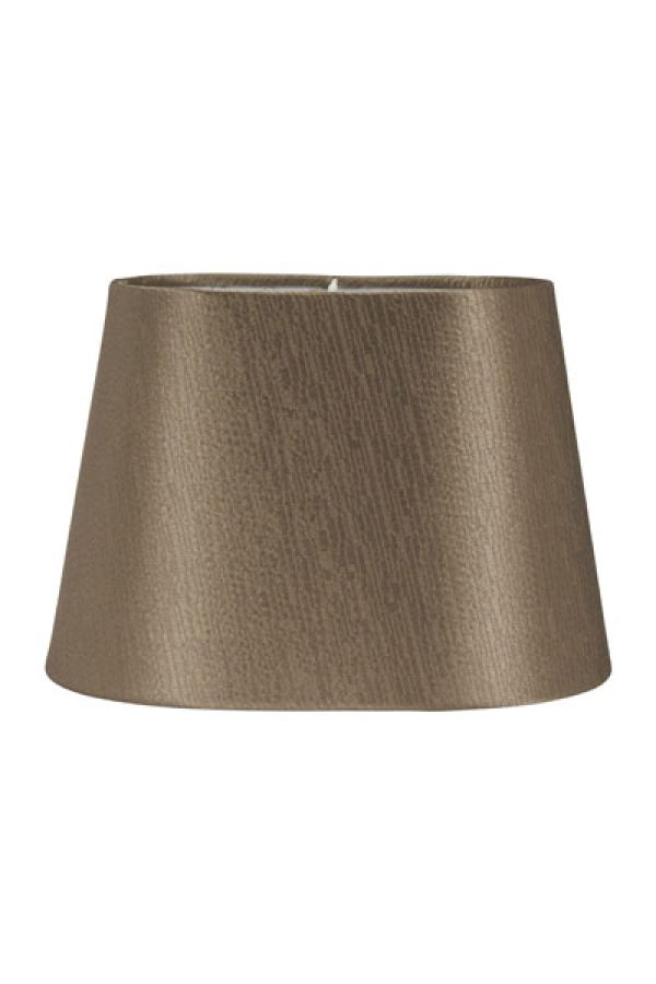 Lampskärm Omera Sidenlook Glint Nougat