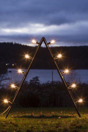 Bright Ljusstake Outdoor Opal 120cm